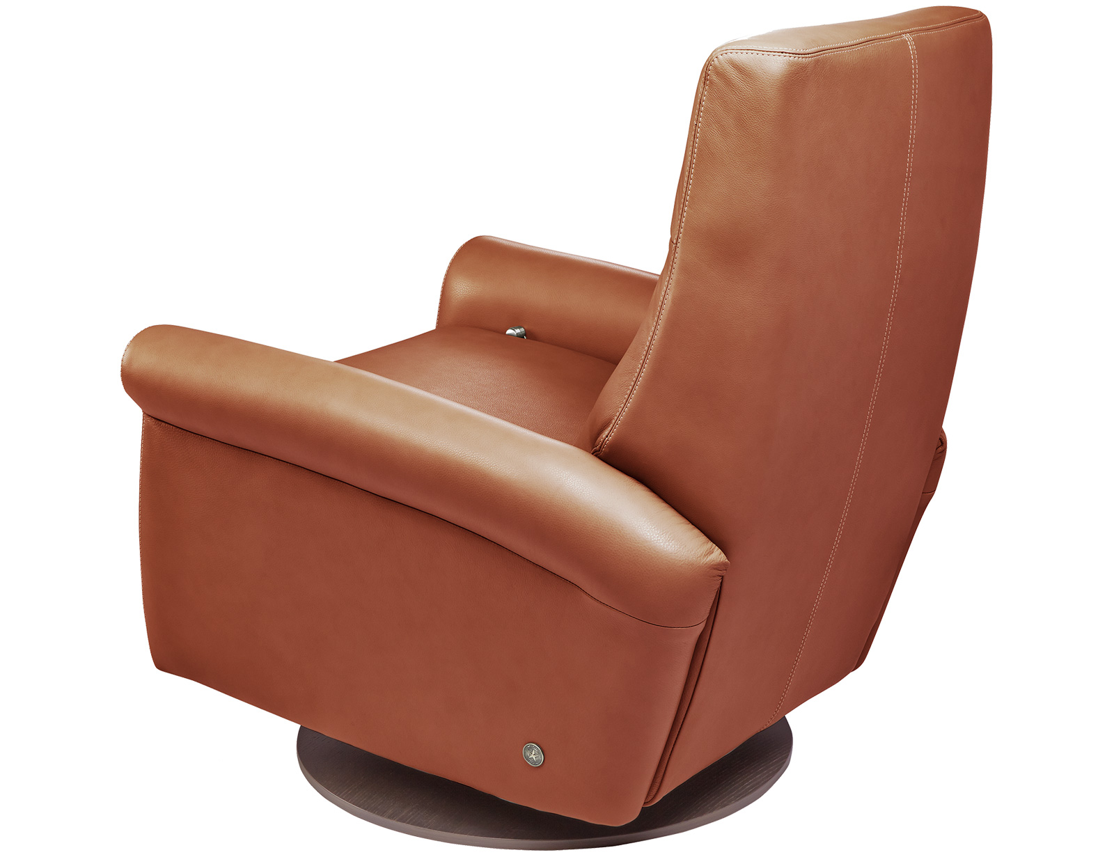 American Leather Ada Comfort Recliner available with swivel base