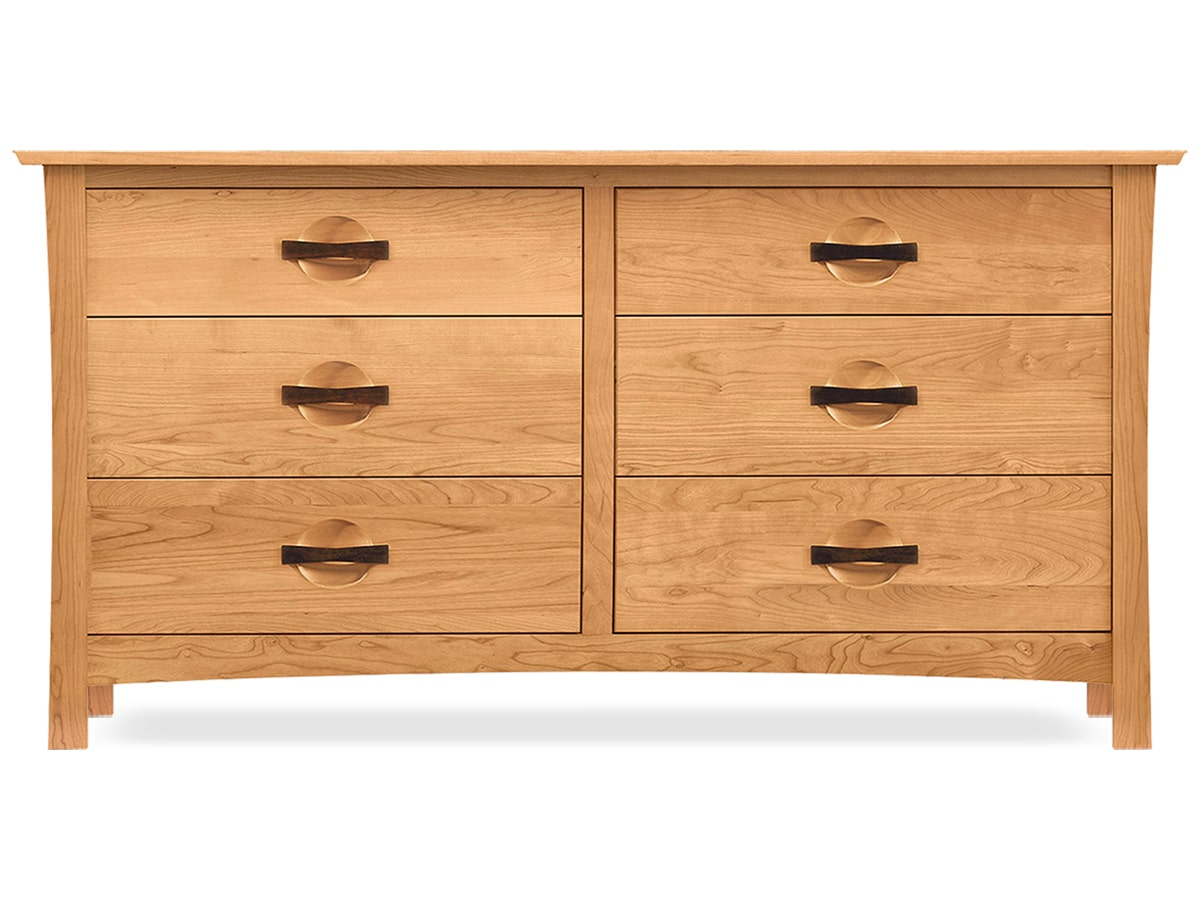 Berkeley 6 drawer bedroom dresser