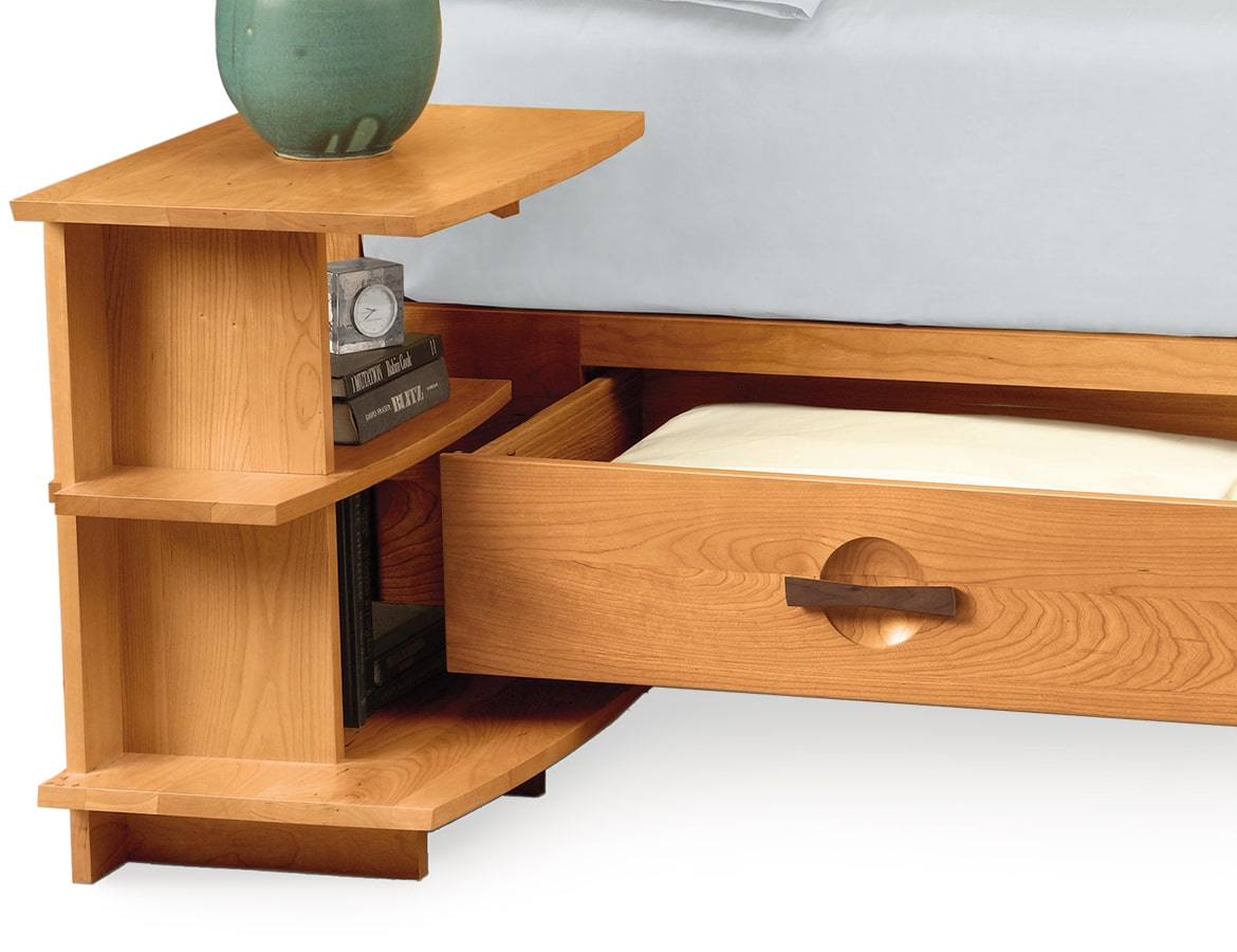 Shelf Nightstand by Copeland Furniture