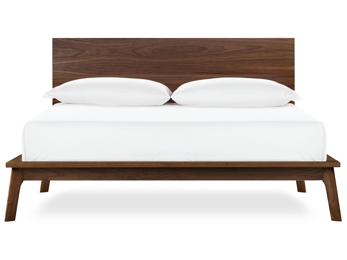 Floor Model Queen Catalian Platform Bed by Copeland Furniture of Vermont