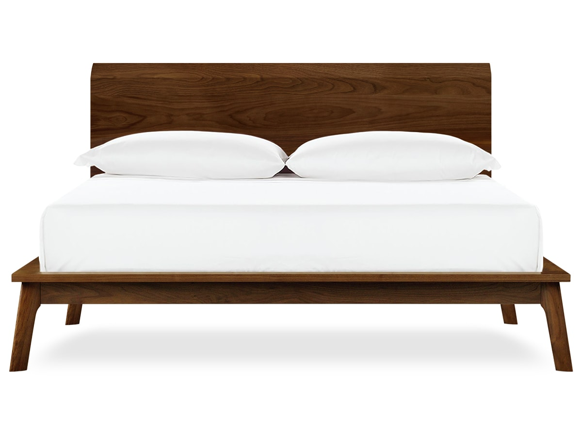 Catalina Walnut Platform Bed