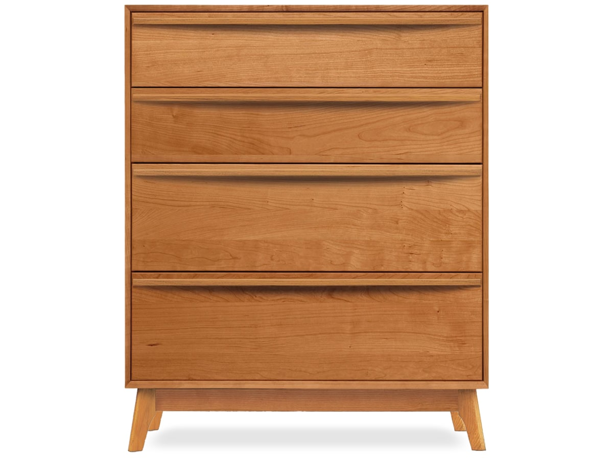 Catalina Modern 4-drawer dresser by Copeland Furniture