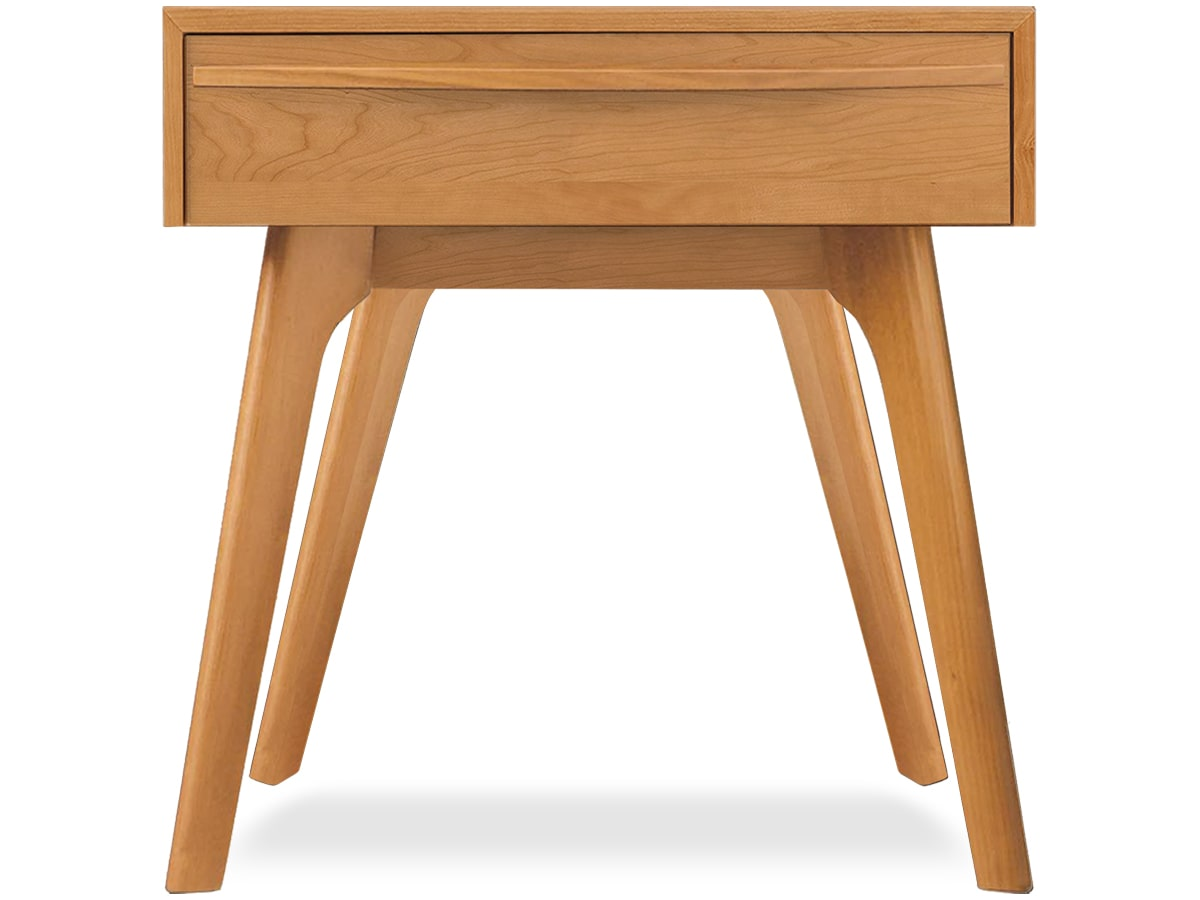 Catalina modern nightstand in cherry