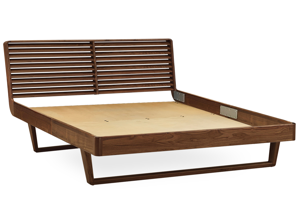 Contour Modern Platform Bed Slat Support System by Copeland Furniture