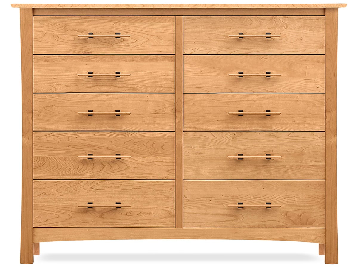 Monterey Solid Cherry 10 Drawer Dresser