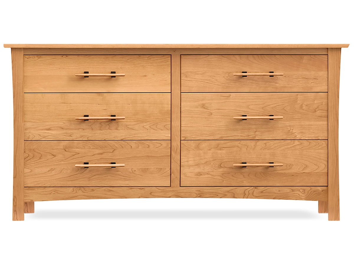 Monterey 6-Drawer Dresser, Solid Cherry Chest of Drawers