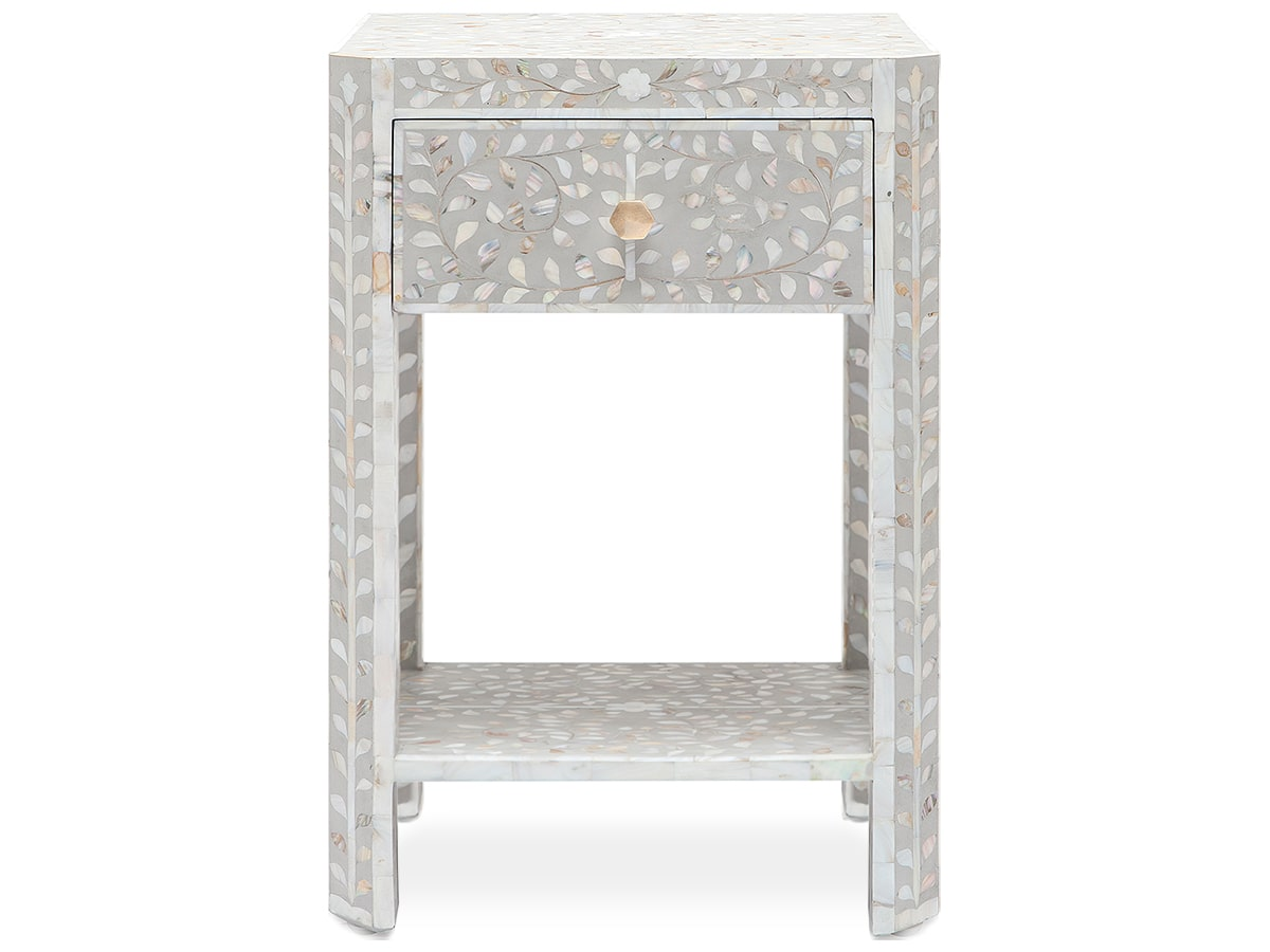 Hessa single width 18 inch nightstand by Made Goods