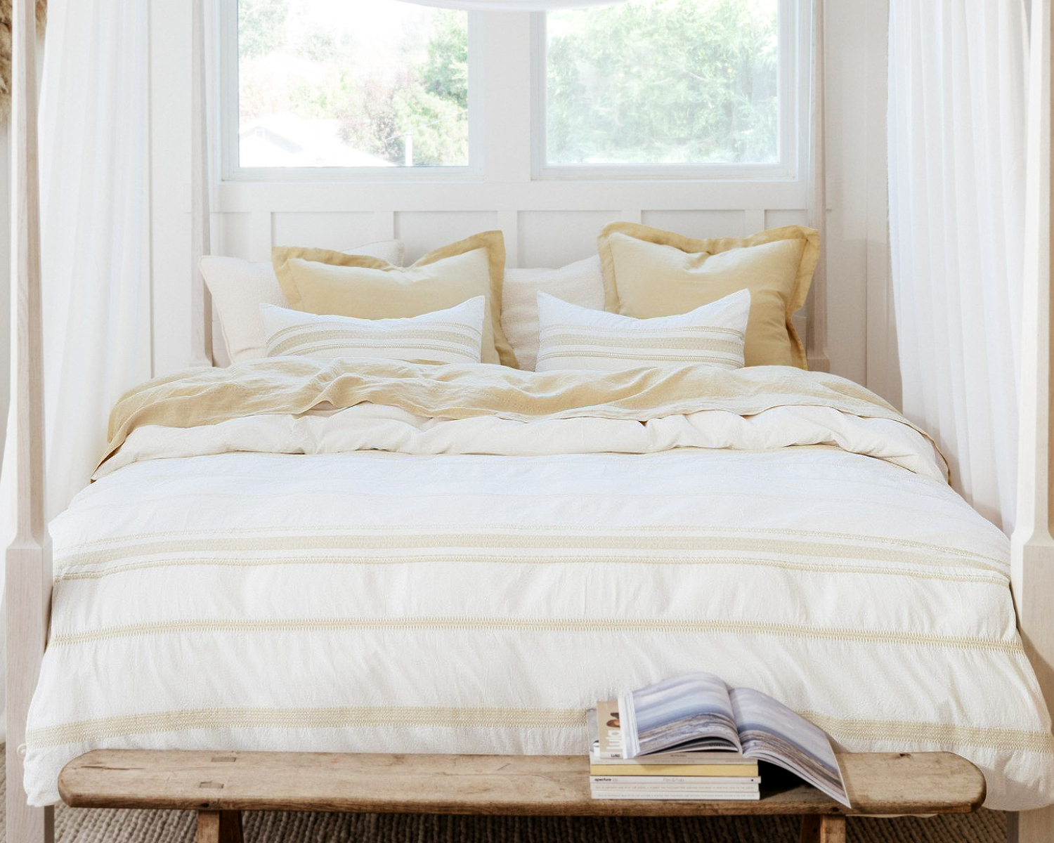 Organic Cotton Ventura Duvet by Coyuchi