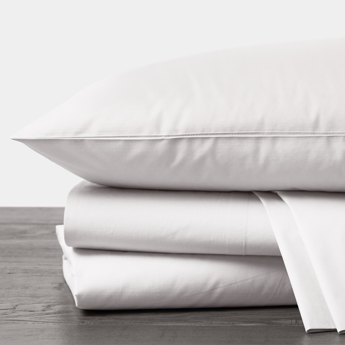 Organic Percale Sheet Set in Alpine White by Coyuchi